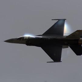 F16 by Daniel Dressel - Transportation Airplanes ( miramar, f16, general dynamics, airshow, military )
