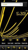 Screenshot of ADW Theme DigitalSoul Yellow