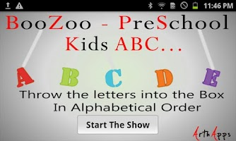 Screenshot of BooZoo PreSchool Kids ABC Free