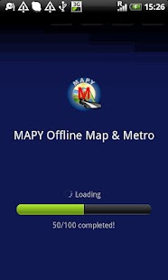 Bristol offline map - screenshot