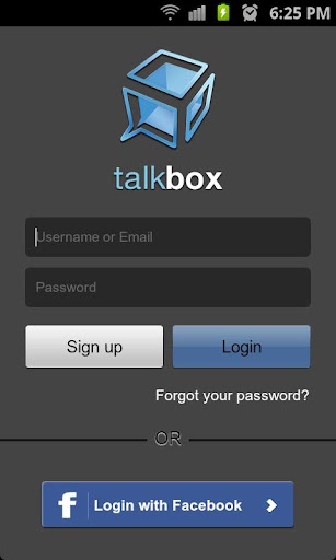 talkbox-voice-messenger-ptt for android screenshot