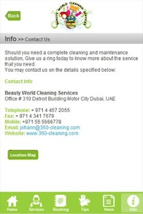 Beauty World Cleaning Services - screenshot
