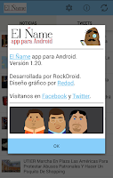 Screenshot of El Ñame