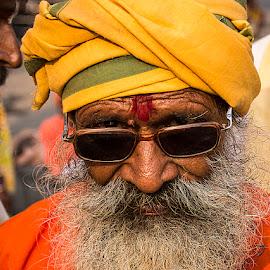 Mahant Ramdas by Rakesh Syal - People Portraits of Men (  )