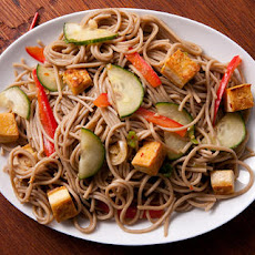 Sesame Noodle Salad with Tofu Recipe