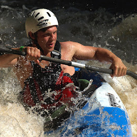 Playboater by Turnip Towers - Sports & Fitness Watersports ( kayaker, kayak, whitewater, canoeist, cano )