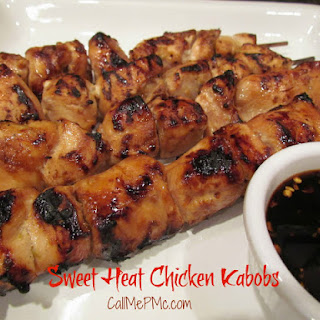 Sweet Heat Chicken Kabobs / Call Me PMc