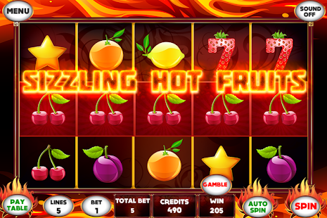 sizzling hot android apk