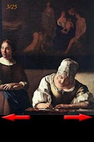 Screenshot of Vermeer Art