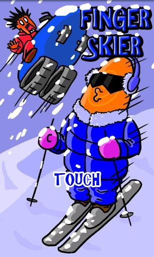 滑雪手指仔 廣告