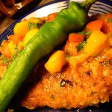 Brazilian Chicken Cutlets With Raw Tropical Sauce