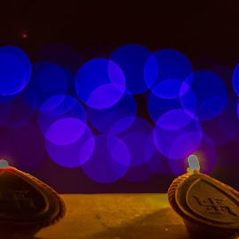 Diwali 2014 by Gurbir Sandhu - Abstract Macro