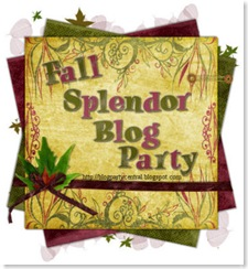 Fall Splendor Blog Party Logo