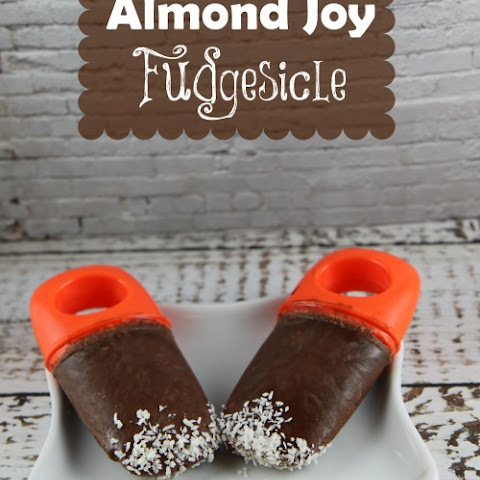 Almond Joy Fudgesicle Recipe | #InternationalDelight
