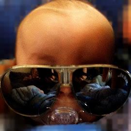 baby glasses by Lacey Murphy - Babies & Children Children Candids ( baby boy )