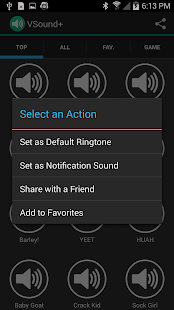 App VSound+ Soundboard for Vine APK for Windows Phone