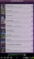Screenshot of 20-20 Cricket World-cup 2014
