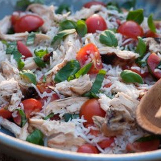 Summer Chicken Rice Salad