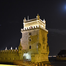 Star Navigation Maritime Discoveries  by Nuno Rcl - Buildings & Architecture Statues & Monuments ( tower, belém, portugal, on the maritime discoveries. )
