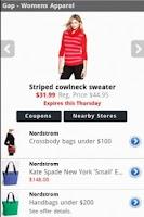 Screenshot of Deal Diva|Women's Deals|Sales