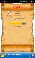 Screenshot of RLRPG
