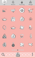 Screenshot of JURY PINK Dodol Theme