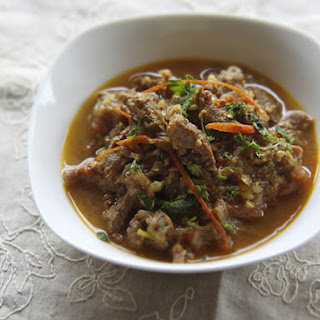 Indian-Style Stewed Beef with Chili