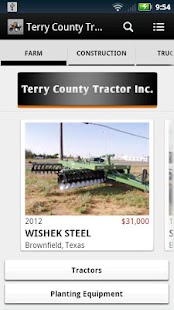 Terry County Tractor - screenshot