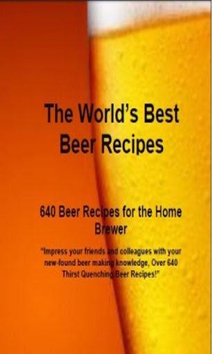640 beer Recipies