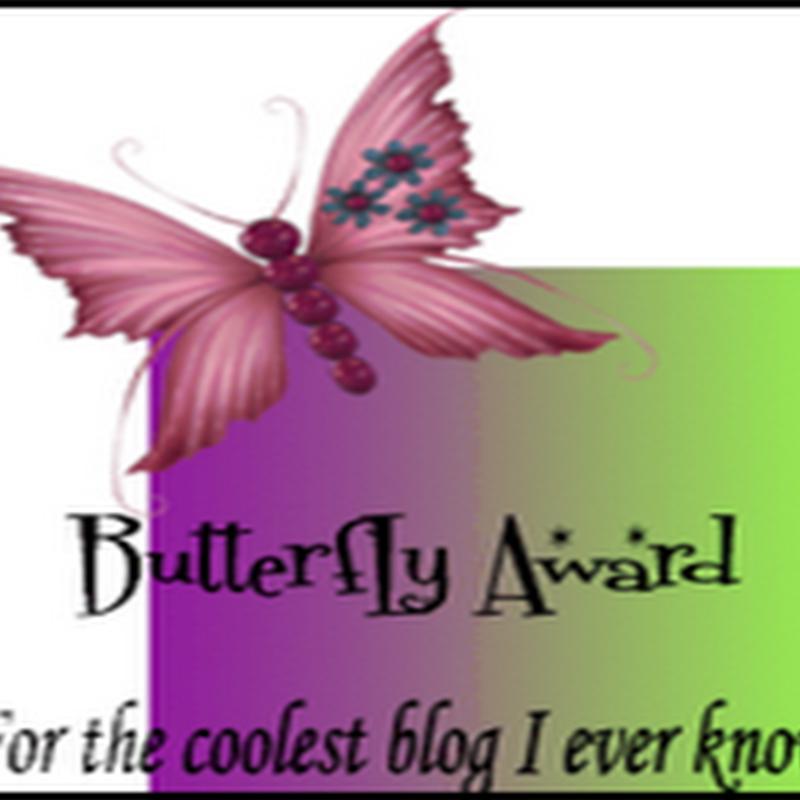 Butterfly Award!!!