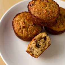 Oatmeal Muffins with Dates, Cranberries and Pecans