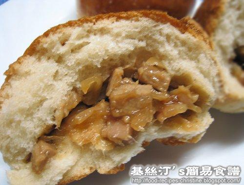 港式叉燒餐包 Cha Shao Bao02