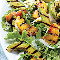 Grilled Peach-and-Avocado Salad