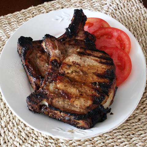 Grilled Pork Chops With Balsamic Marinade