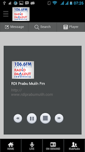 RDI 106.6 FM - PRABUMULIH - screenshot