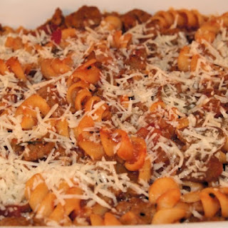 Baked Macaroni And Cheese With Sausage Casserole Recipes