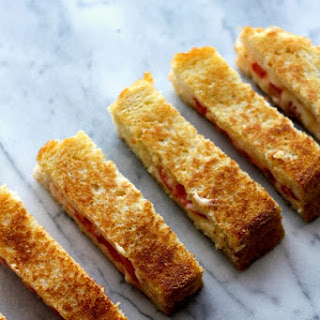 Smoky Bacon Grilled Cheese Dippers