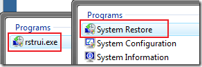 systemrestore