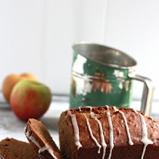 Apple Spice Bread with Apple Cider Glaze