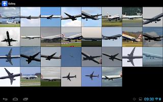 Screenshot of Plane Finder