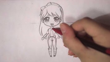 Screenshot of Chibi Drawing Tutorial