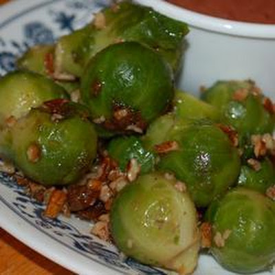 Sugar Glazed Brussels