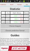 Screenshot of Soccer Prediction