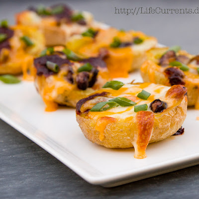 Baked Mexican Potato Skins