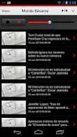 Screenshot of BésameFM para Android