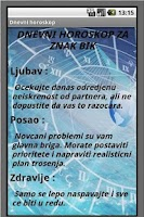 Screenshot of Dnevni Horoskop - Astrologija