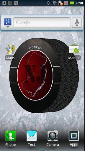 New Jersey Hockey 3D WALLPAPER