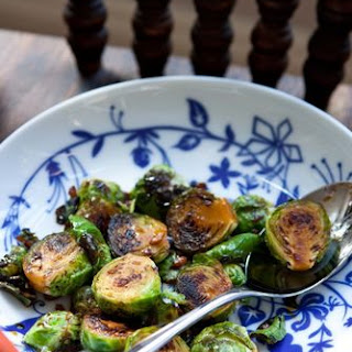 Really crazy good Brussels sprouts