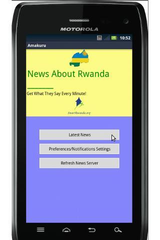 News About Rwanda Amakuru