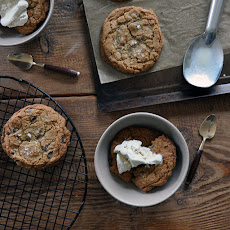 Buckwheat and Sea Salt Cookie Sundaes